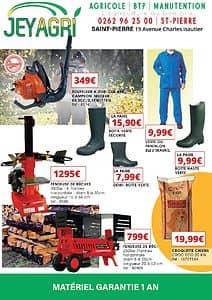 Catalogue JEY AGRI Saint-Pierre