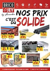 Catalogue BRICO JEY Saint-Pierre