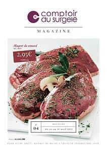 Catalogue LE COMPTOIR DU SURGELE