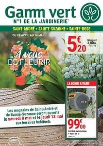 Catalogue GAMM VERT Sainte-Rose