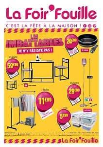 Catalogue LA FOIR'FOUILLE Saint-Paul