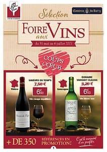 Catalogue 20 sur vin